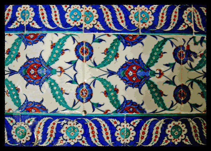 Tiles from the Topkapi palace, Istanbul